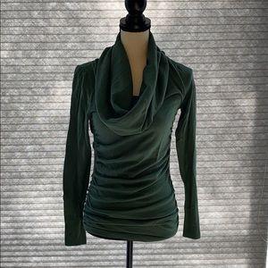 Moda International ruched cowl neck  Sz S